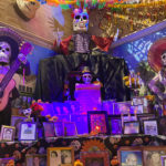 Old Town Market altar for Day of the Dead